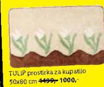 Prostirka Tulip za kupatilo