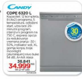 Mašina za sudove CDPE 6320L