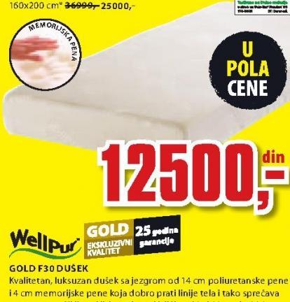 Dušek, Gold f30