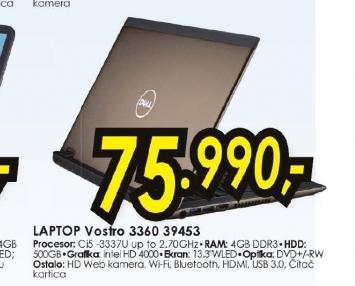 Laptop Vostro 3360 39453