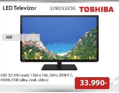 Televizor  LED 32w2333DG