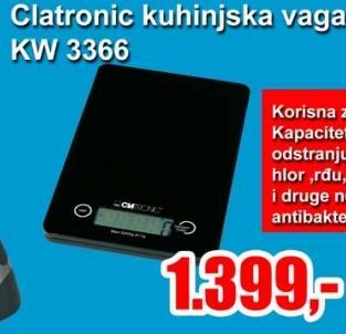 Kuhinjska vaga Kw 3366