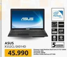 Laptop X552CL-SX014D