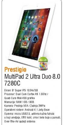 Tablet Multipad 7280C 3G Duo