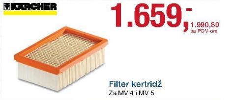 Filter kertridž