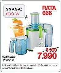 Sokovnik Jc 800 G