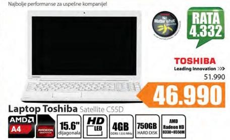 Laptop Satellite C55D