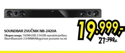 Soundbar zvučnik NB-2420A