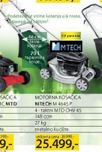 Motorna kosačica Mtech M 4645