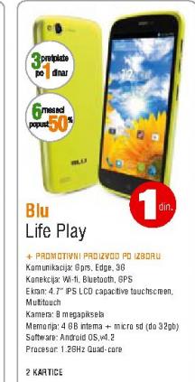 Mobilni telefon Life Play, BLU