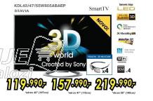 3D televizor LED LCD KDL-42W805ABAE2