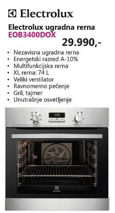 Ugradna Rerna EOB3400DOX