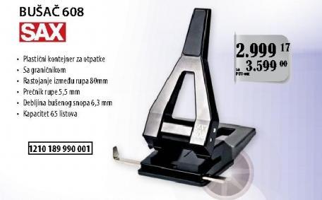 Bušač 608 Sax