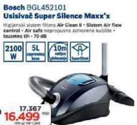 Usisivač Super Silent Maxxx Bgl452101