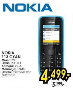 Mobilni telefon 113 Cyan
