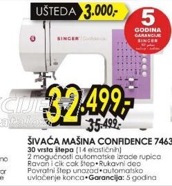 Šivaća mašina Confidence 7463