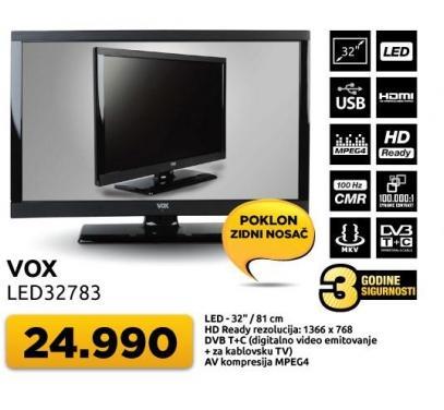 """Televizor LED 32"""" 32783 + poklon zidni nosač"""