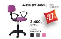 Stolica A4 RUK CR 101GH