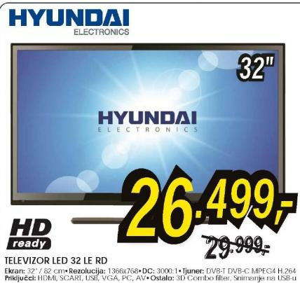 Televizor LED LCD 32 LE-R D