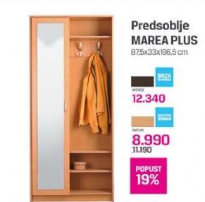 Predsoblje Marea Plus