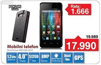 Mobilni telefon MultiPhone Pap5400