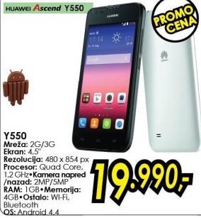 Mobilni telefon Ascend Y550