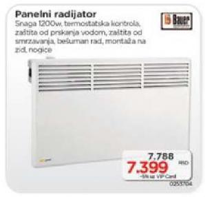 Panelni radijator