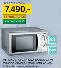 Mikrotalasna Mo200ms