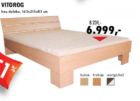 Krevet Vitorog 163x215x83 cm