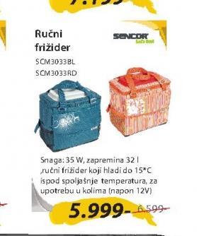 Ručni frižider SCM3033BL