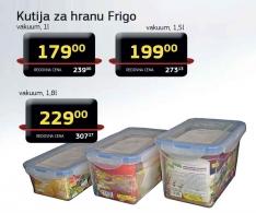 Kutija za hranu Frigo vakuum 1l