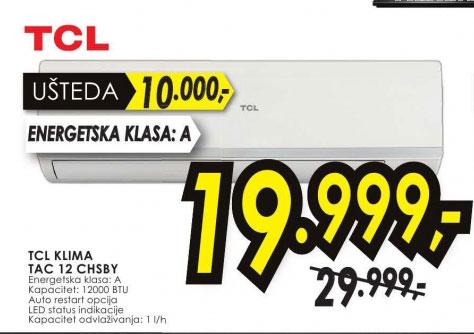 TCL klima TAC 12 CHSBY