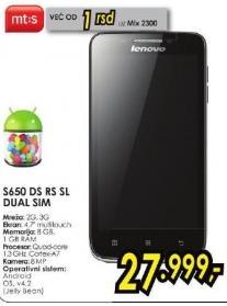 Mobilni telefon S650 Ds Rs Sl Dual Sim