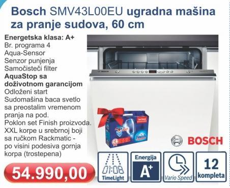 Ugradna mašina za pranje sudova SMV43L00EU