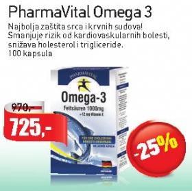 Kapsule PharmaVital Omega3