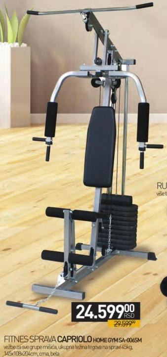 Fitnes sprava Home Gym SA-006SM