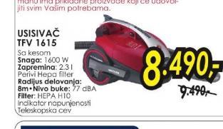 Usisivač TFV 1615