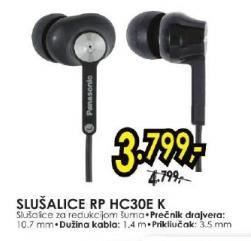 Slušalice RP HC30E K