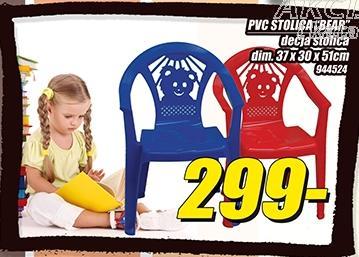 Stolica Pvc Bear