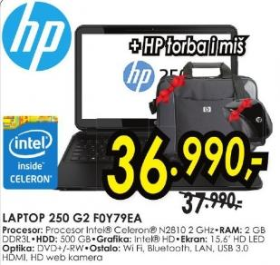 Laptop 250 G2 F0y79ea + Poklon HP torba i miš