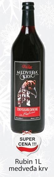 Medveđa krv Rubin super cena