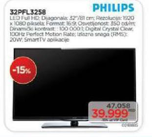 Televizor LED 32PFL3258