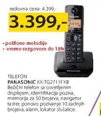 Telefon KX-TG 2711 FXB