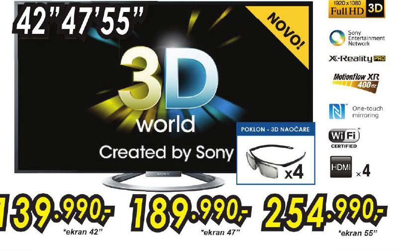 Televizor LED KDL55W805APAEP