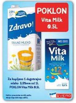 Poklon Vita Milk 0,5l