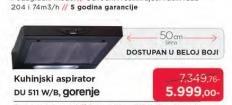 Aspirator DU511W