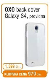 Back Cover Oxo Galaxy S4