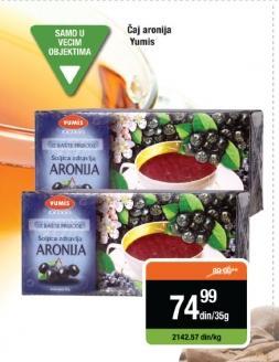 Čaj aronija