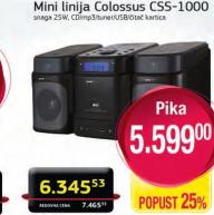 Mini linija CSS-1000