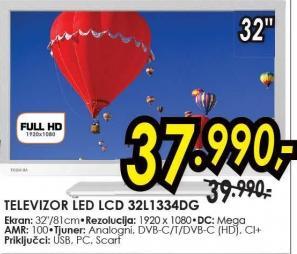 """Televizor LED 32"""" 32l1334dg"""